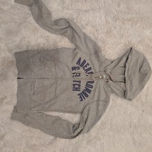 Abercrombie and Fitch fitted zip hoodie!